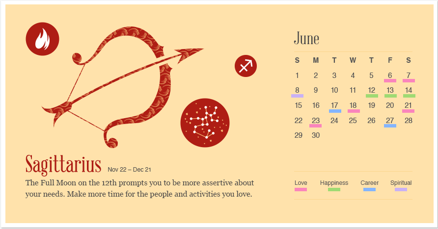 Sagittarius in June