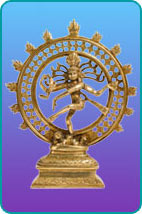 A Nataraja statue of Shiva, the Lord of Dance