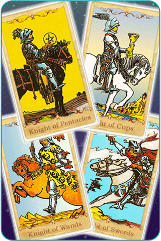 knight cards tarot