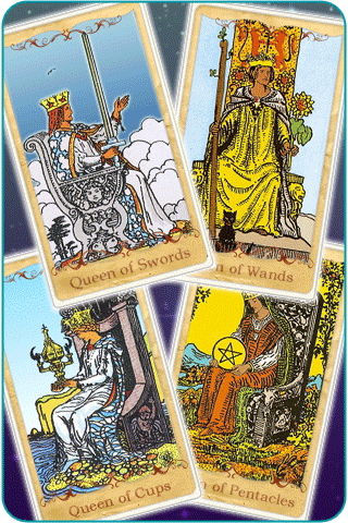 queen tarot cards