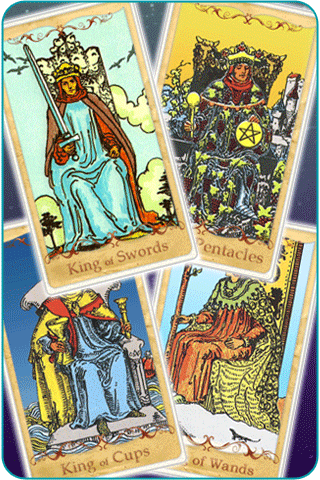 king cards tarot
