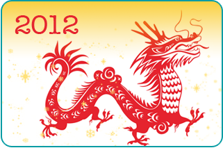 2012 chinese new year dragon forecast