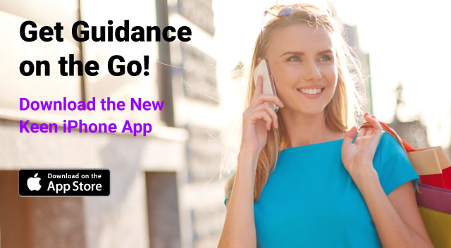 Get guidance on the go! Download the new Keen iPhone app